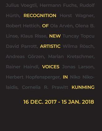 Pressemitteilungen - Recognition of New Artistic Voices