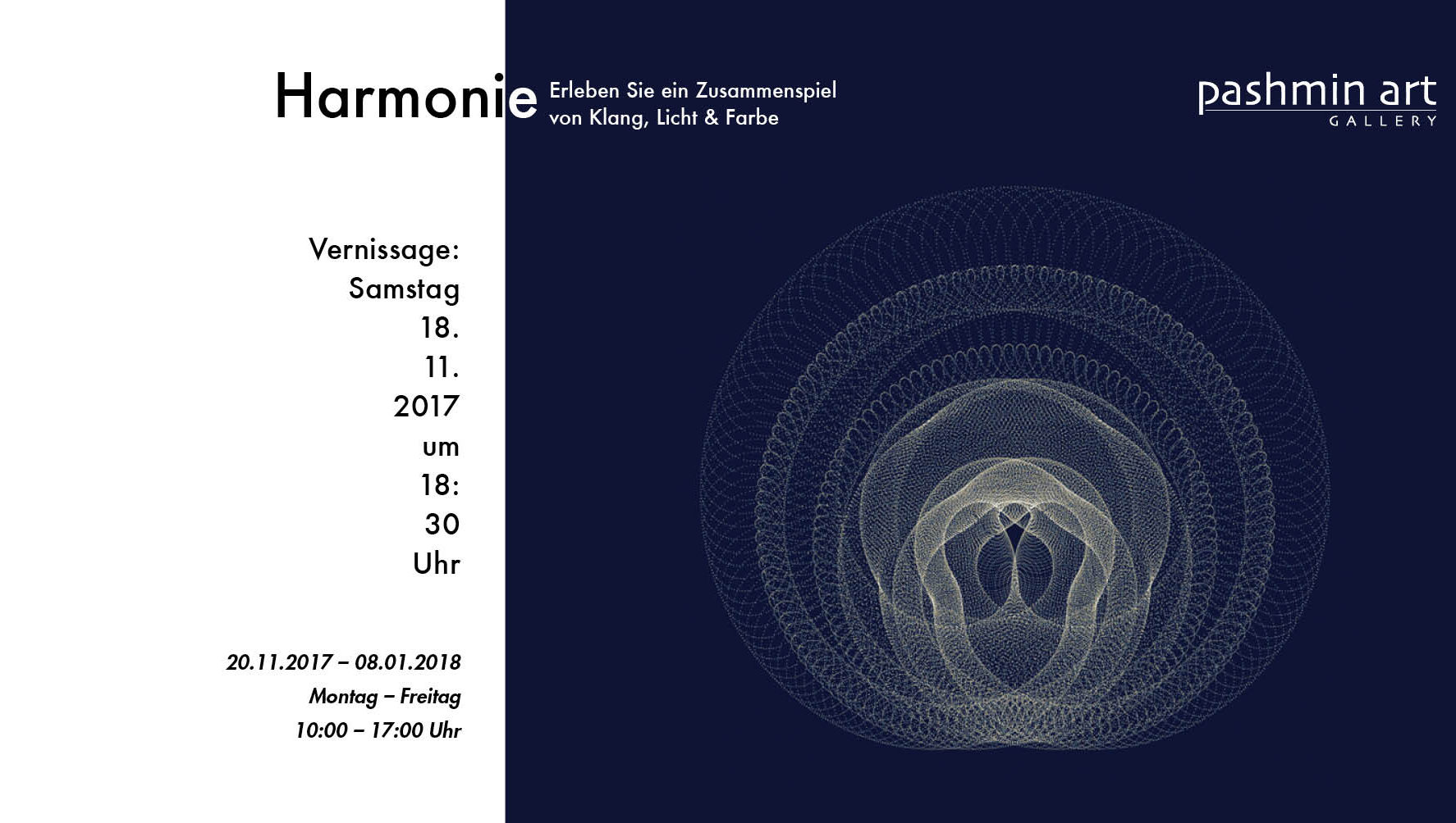 Pashmin Art Gallery Hamburg - Harmony - Light and Music Art