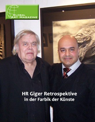 "Global Art Magazine ""HR GIGER RETROSPEKTIVE"""