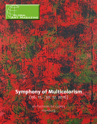 "Global Art Magazine über ""Symphony of Multicolorism"""